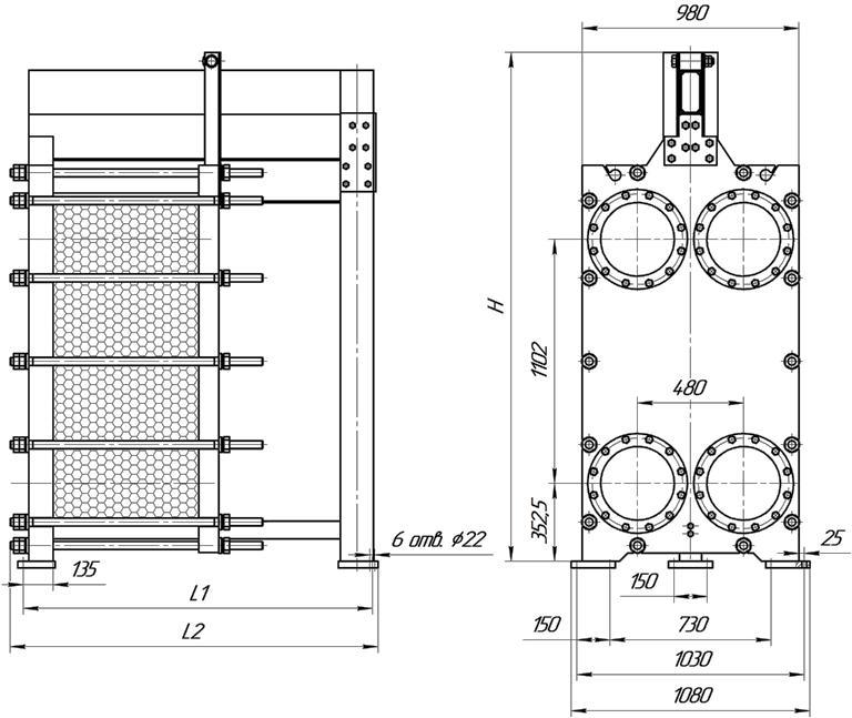 Уплотнения теплообменника SWEP (Росвеп) GL-430N Петрозаводск Пластины теплообменника Этра ЭТ-082 Пушкино
